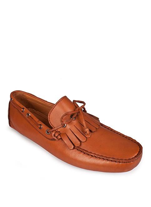 Matraş Hakiki Deri Casual Ayakkabı Taba